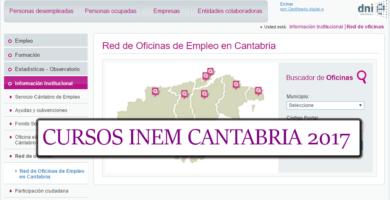 CURSOS CANTABRIA
