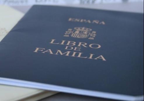 libro de familia 3
